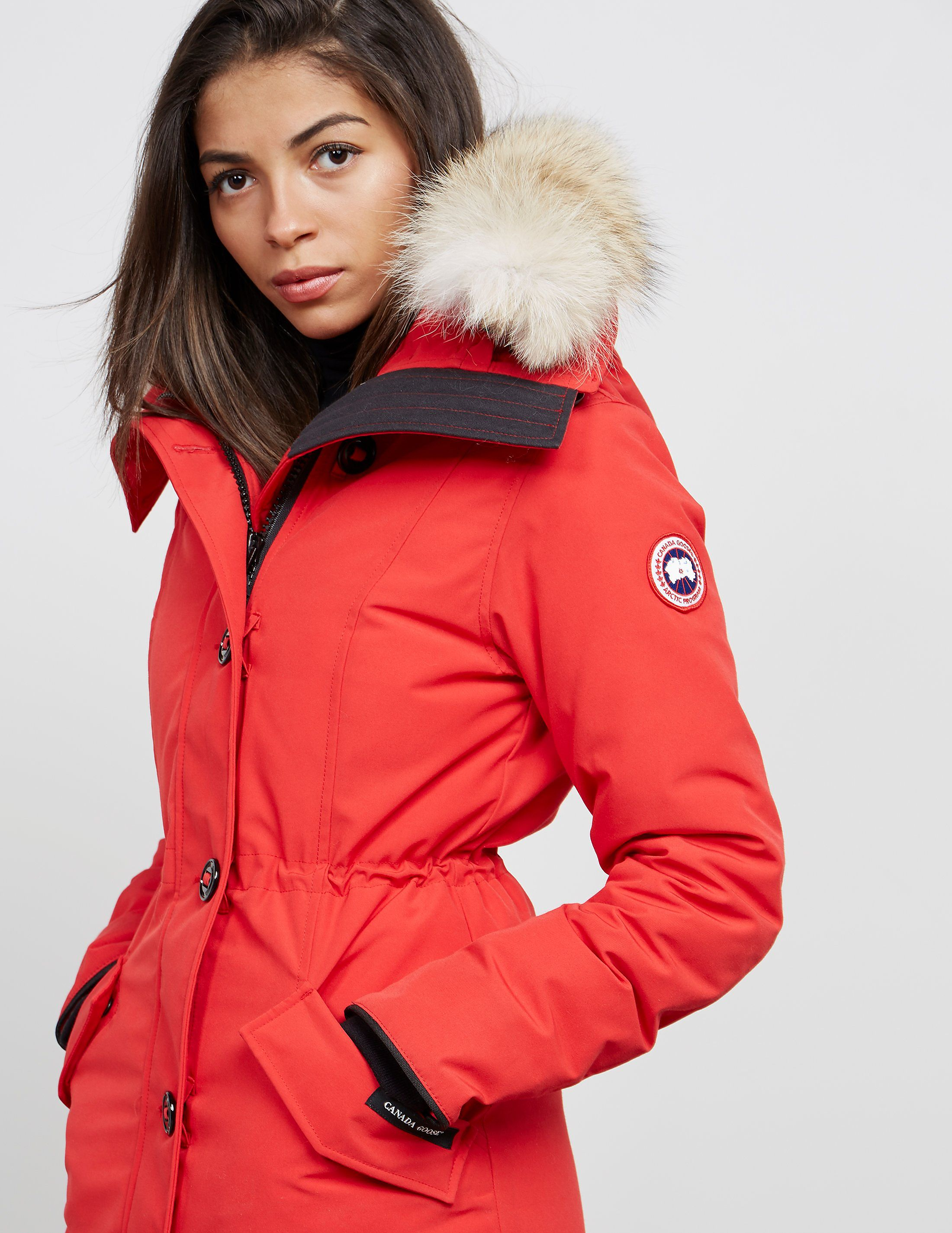 Canada Goose Rossclair Padded Parka Jacket Tessuti