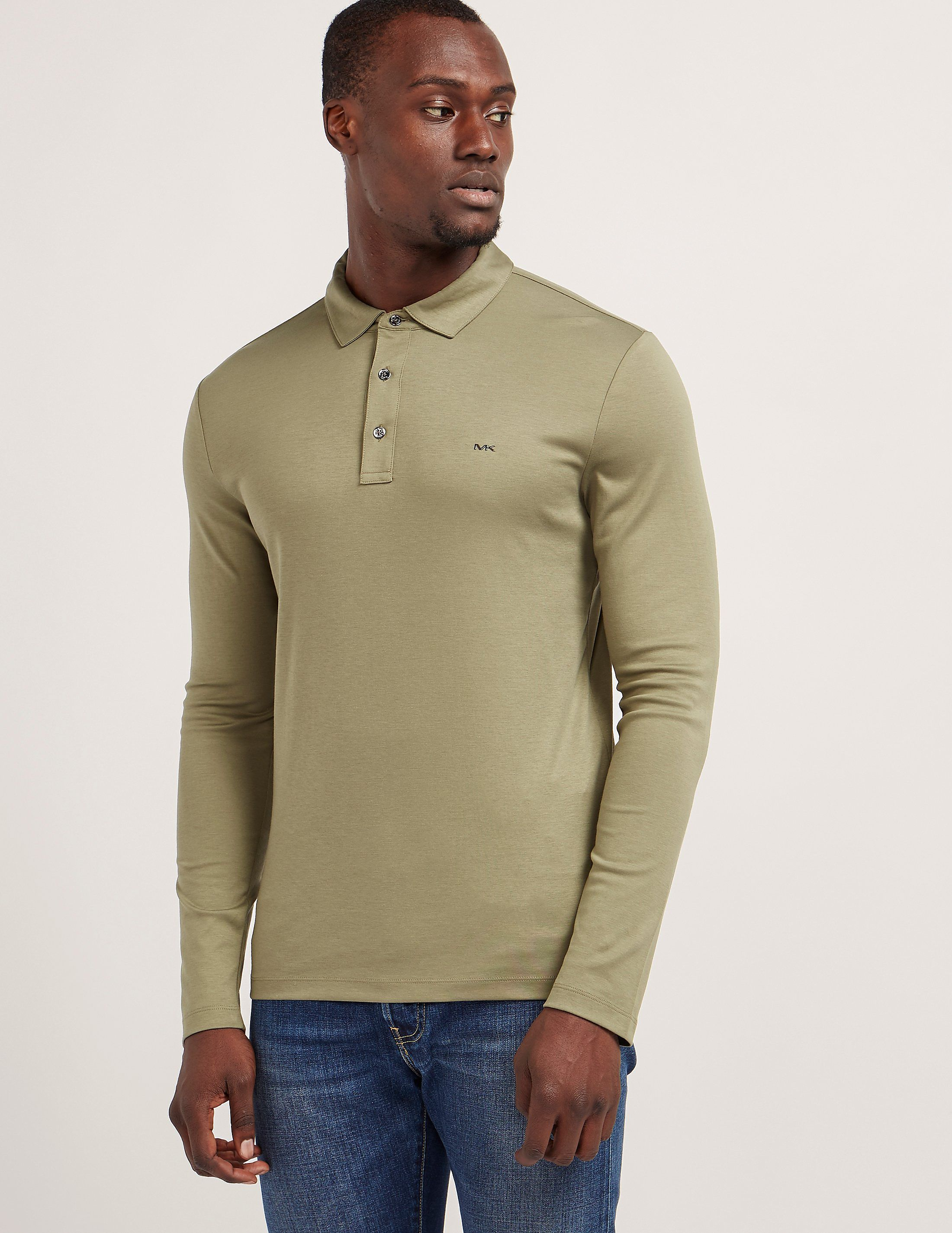 958605b1 Armani Jeans Modern Fit Long Sleeve Polo Shirt | RLDM