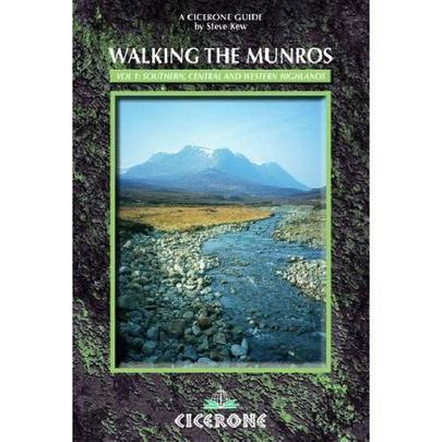 Cicerone Walking the Munros: Southern, Central and Western Highlands Vol. 1 Guidebook
