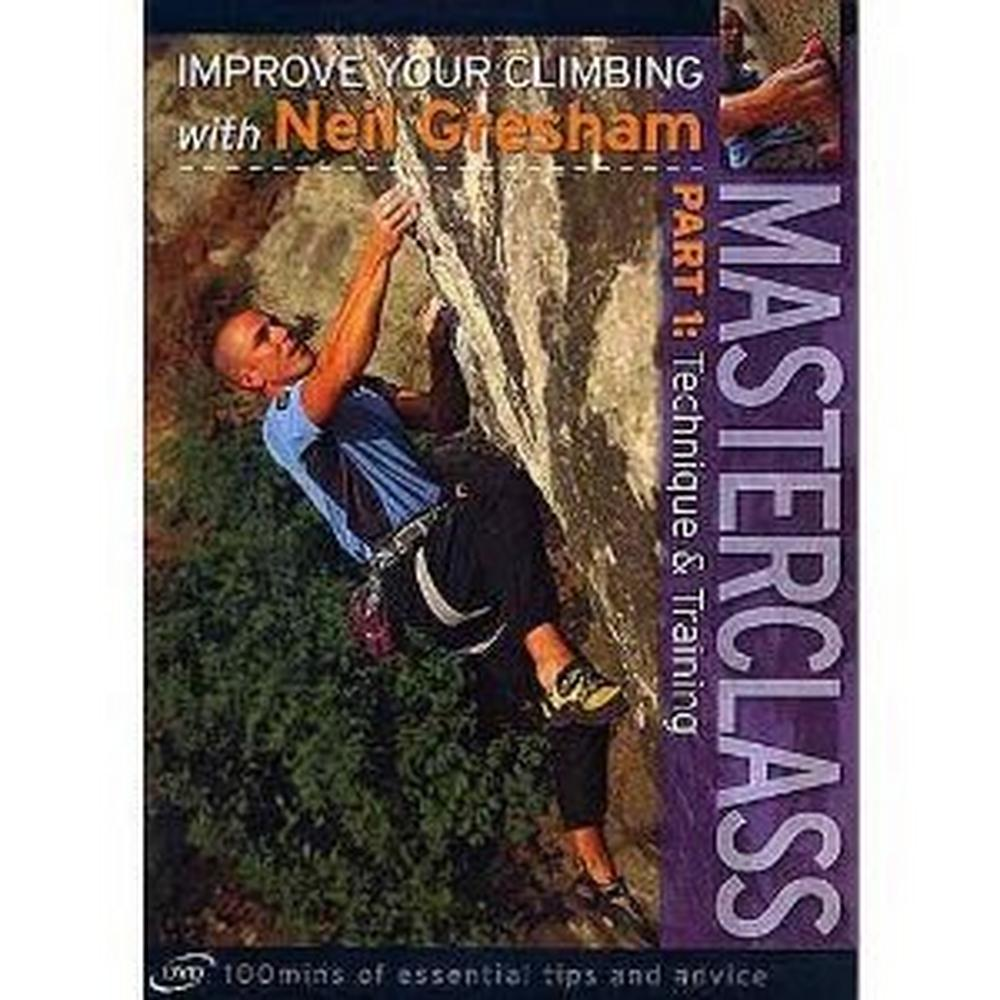 Cordee Masterclass Part 1: Skills and Tactics for Sport and Trad Climbing- Improve Your Climbing with Neil Gresham