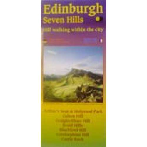 Edinburgh Seven Hills Map