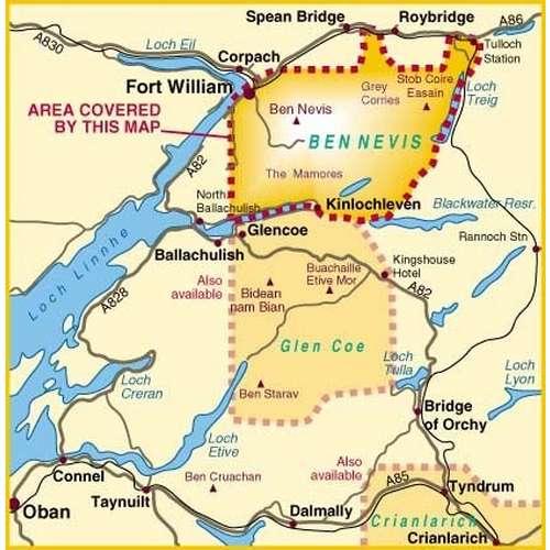 Superwalker Ben Nevis Map