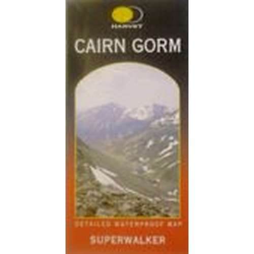 Superwalker Cairn Gorm Map