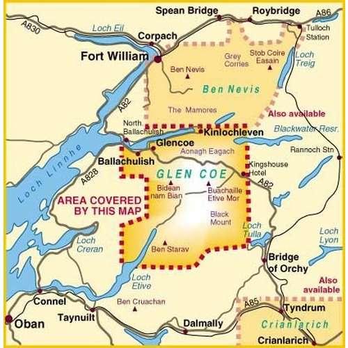 Glen Coe Map
