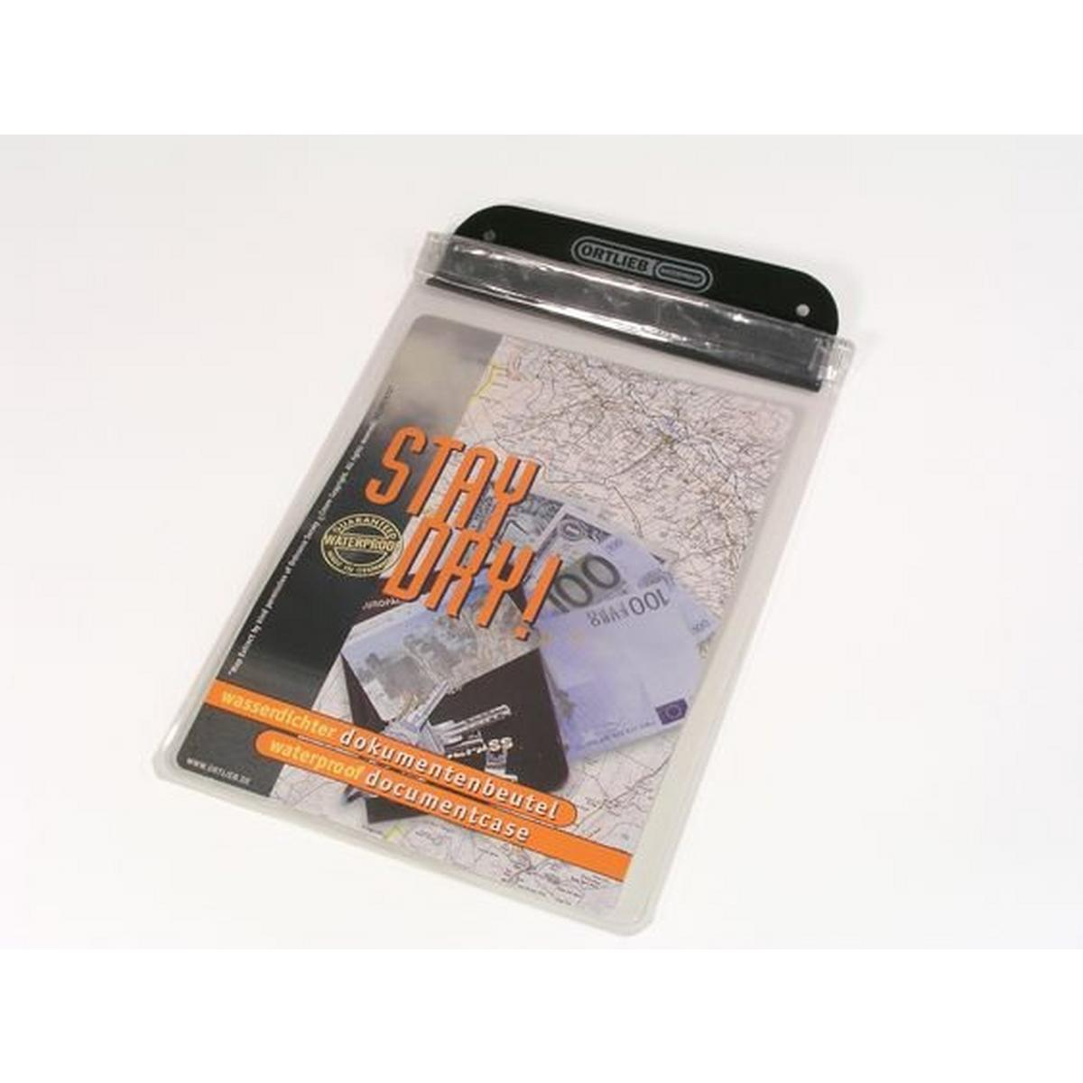 Ortlieb Waterproof Document Case A5 - Clear