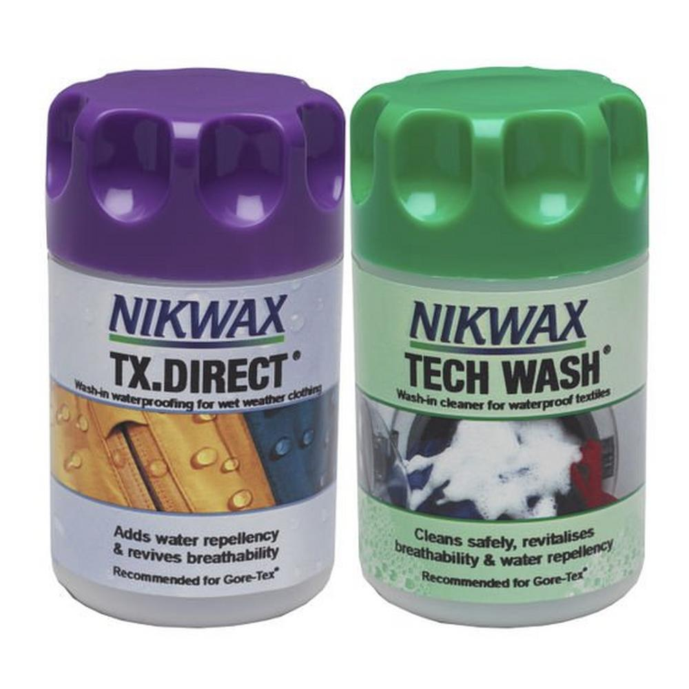 Nikwax Tech Wash/TX Direct Twin Pack Proofer