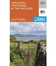 Explorer 311 1:25000 Wigtown, Whithorn & The Machars, Dumfries & Galloway