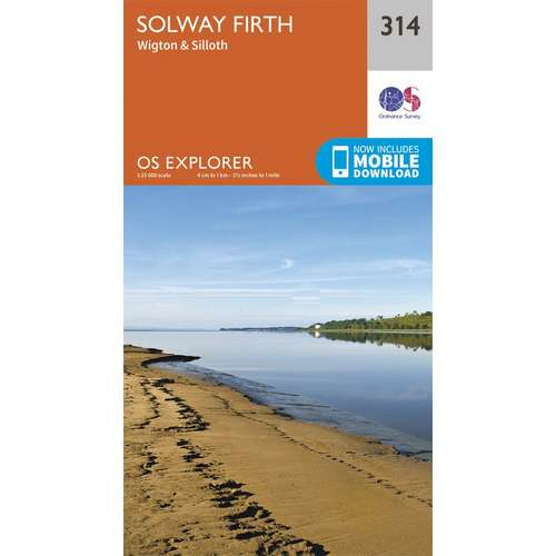 Explorer 314 1:25000 Solway Firth
