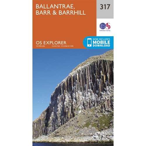 Explorer 317 1:25000 Ballantrae, Barr & Barrhill
