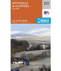 Explorer 321 1:25000 Nithsdale & Dumfries, Dumfries & Galloway