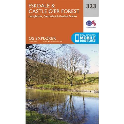Explorer 323 1:25000 Eskdale and Castle OGo---