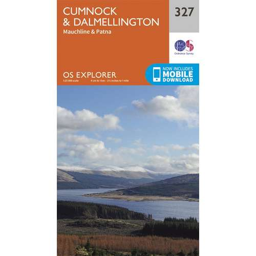 Explorer 327 1:25000 Cumnock & Dalmellington, East Ayrshire