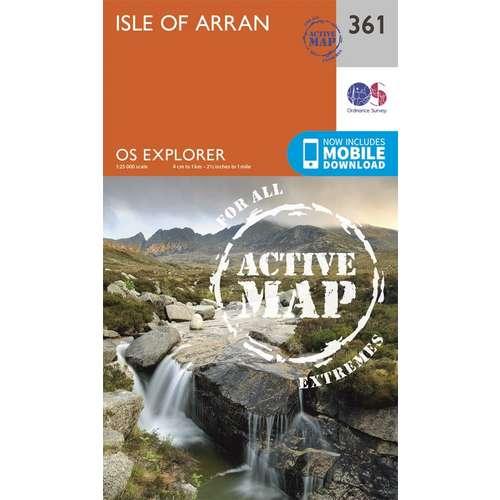 Explorer Active Laminate 361 Isle of Arran