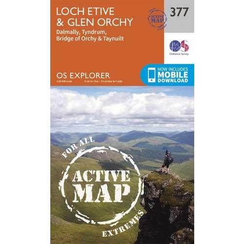 Explorer Active Laminate 377 Loch Etive & Glen Orchy