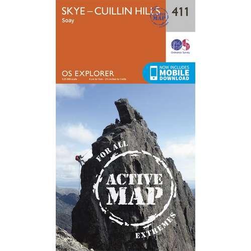 Explorer Active Laminate 411 Skye - Cuillin Hills