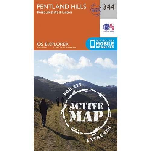 Explorer Active Laminate 344 - Pentland Hills
