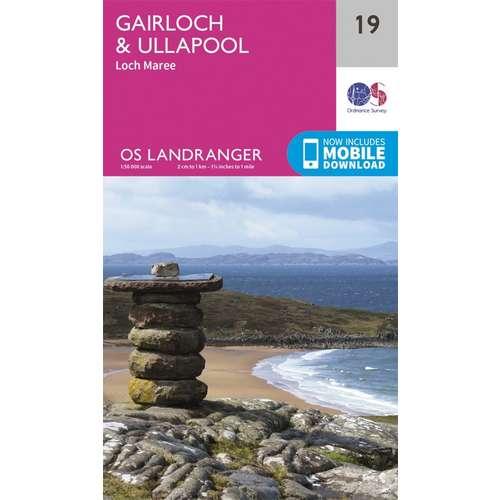 Landranger 19 1:50000 Gairloch & Ullapool