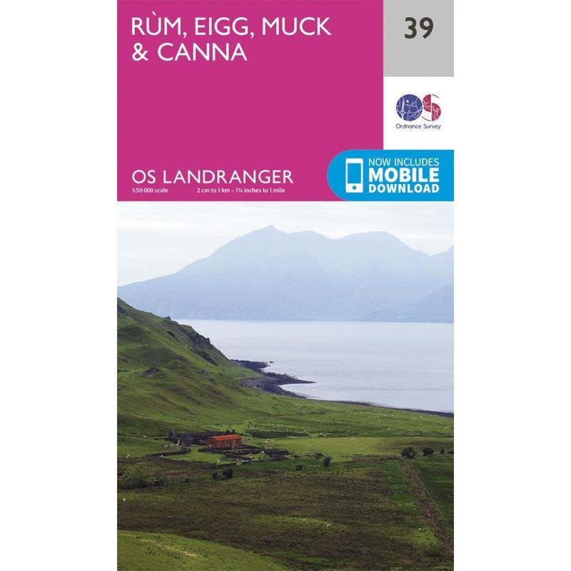 OS Landranger Map 39 Rum, Eigg & Muck