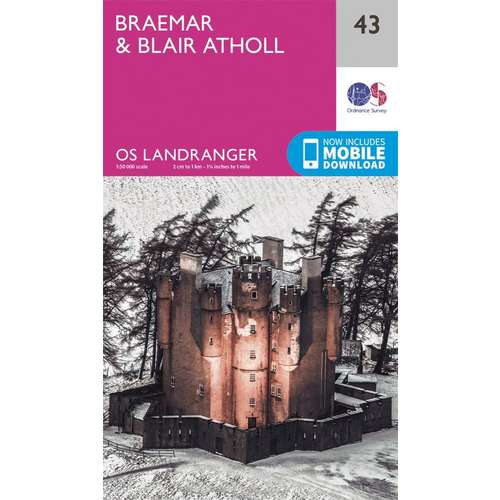 Landranger 43 1:50000 Braemar & Blair Atholl