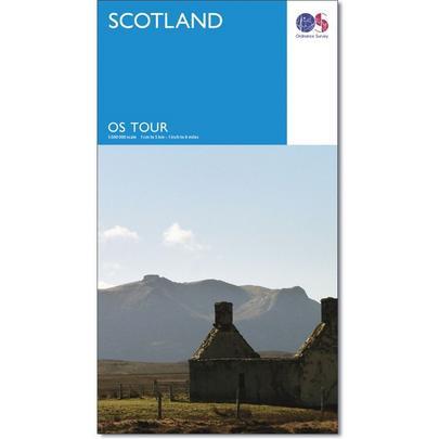 Ordnance Survey Scotland Touring Map