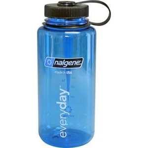 Tritan 1L Wide Mouth Bottle Blue
