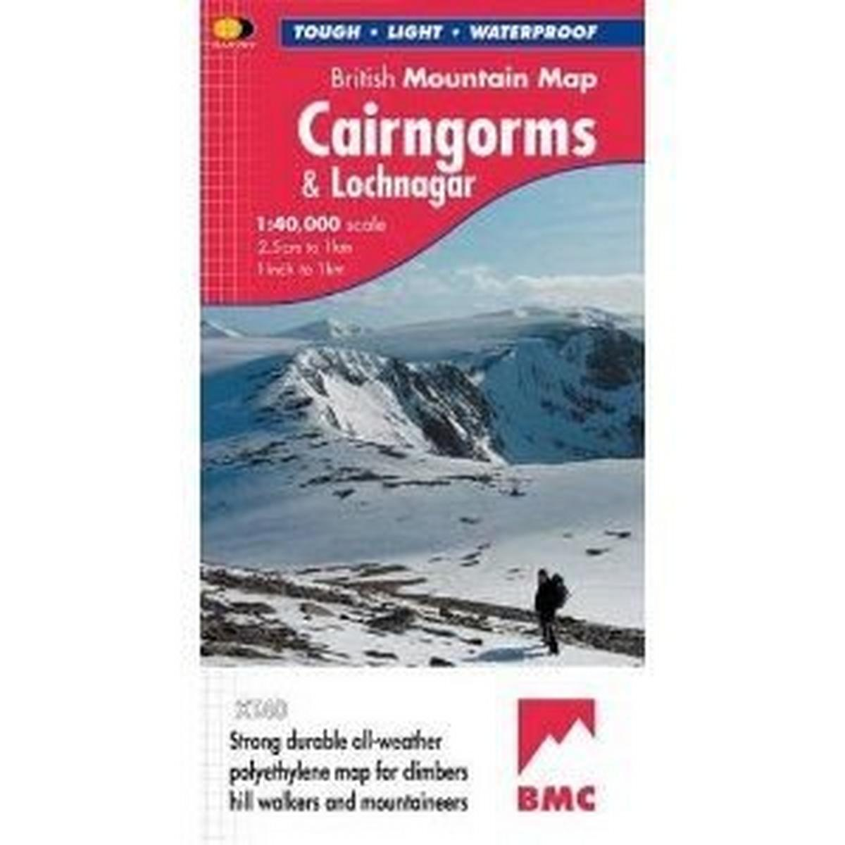 Harveys Cairngorms Mtn Map 1-40000