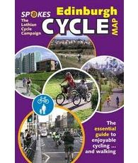 Spokes Edinburgh Cycle Map