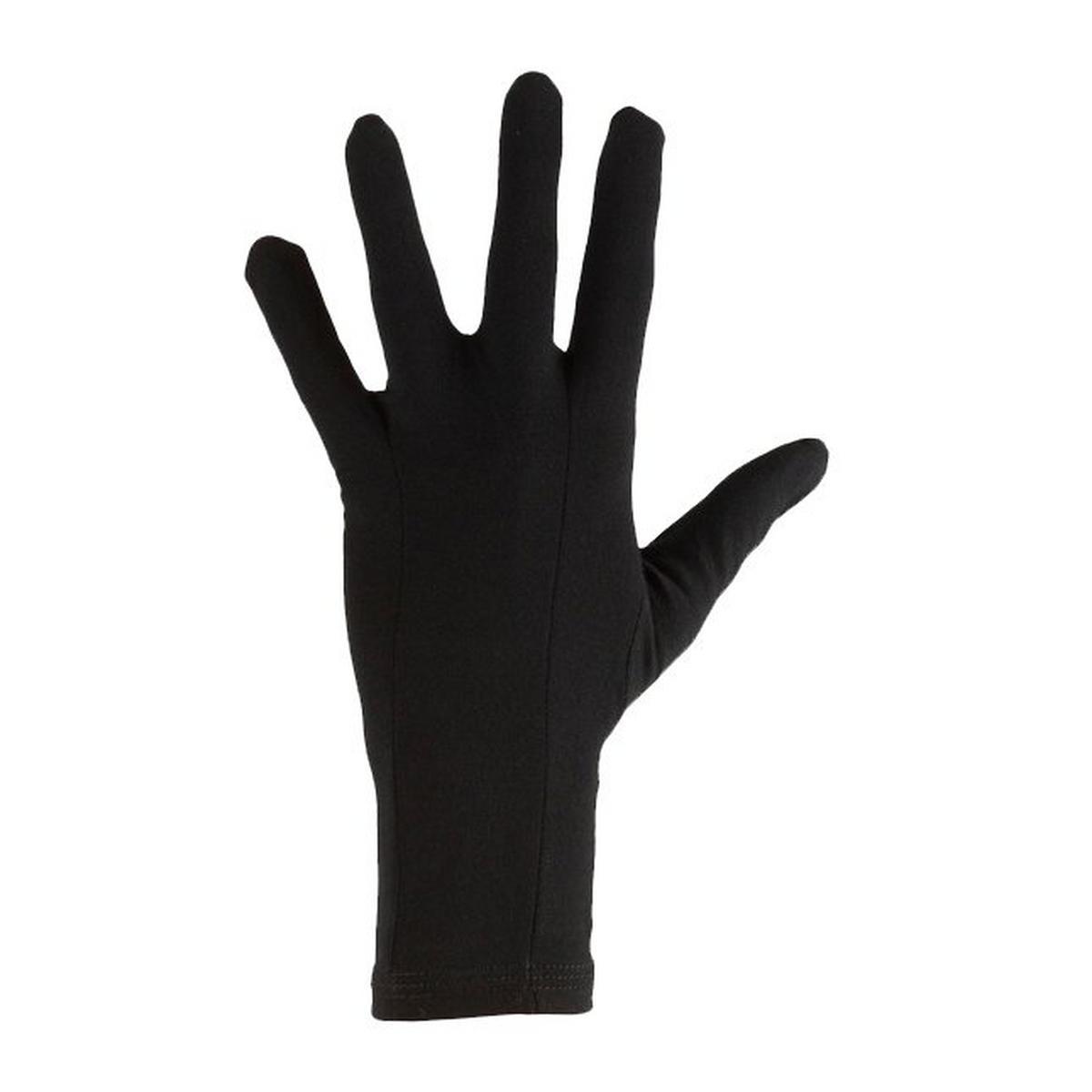 Icebreaker Unisex Icebreaker Oasis Glove Liner - Black