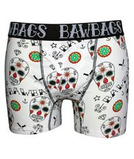 Cotton Boxers Day Of The Dead