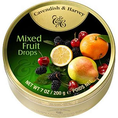 Tin Mixed Fruit Drops 200g