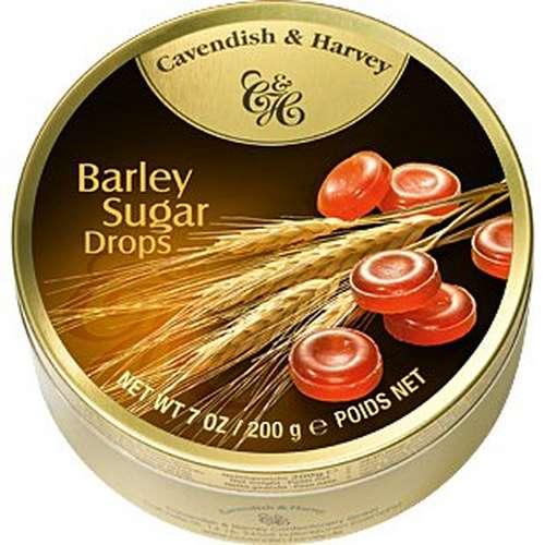 Tin Barley Sugar Drops 200g