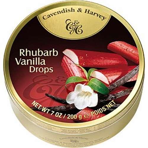 Tin Rhubarb Vanilla 200g