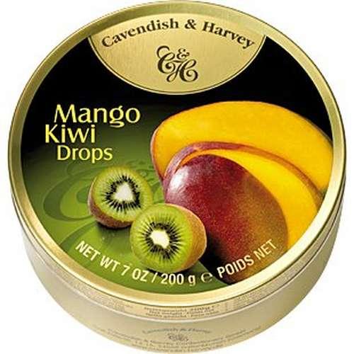Tin Mango Kiwi Drops 200g
