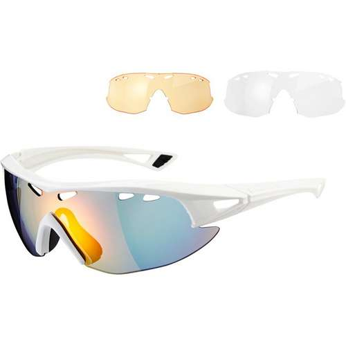 Recon Glasses White Frame Three Lens Pack