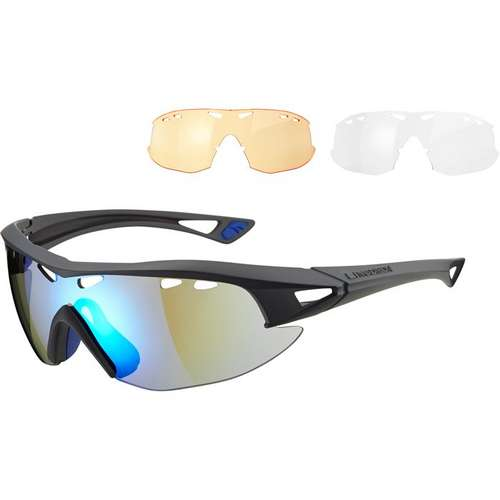 Recon Glasses Grey Frame Three Lens Pack