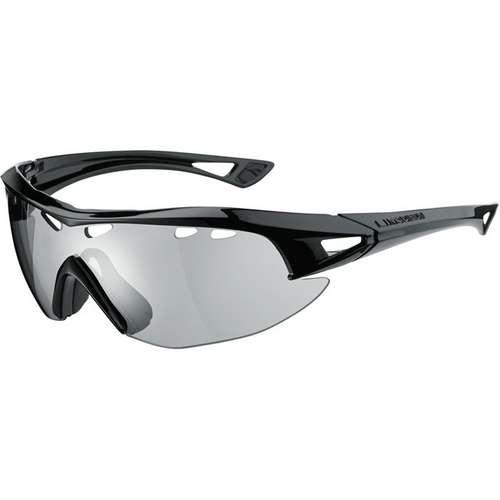 Recon Glasses Gloss Black Frame Silver Mirror Lens