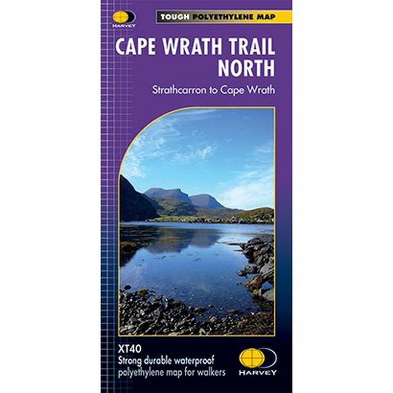 Harvey Map - XT40: Cape Wrath Trail - North