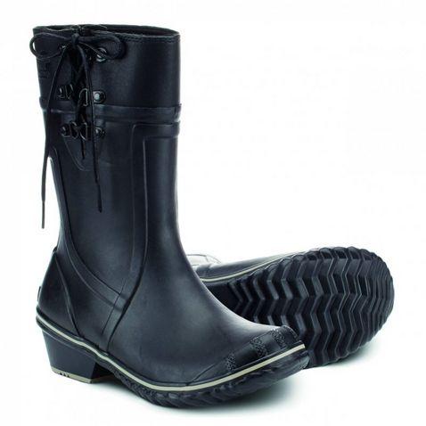d29dd33d082 Black Sorel Women s Conquest Carly Glow Boots
