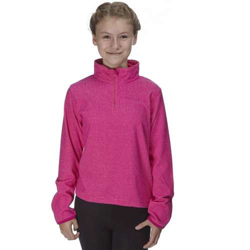 Kid's Half Zip Mini Stripe Fleece