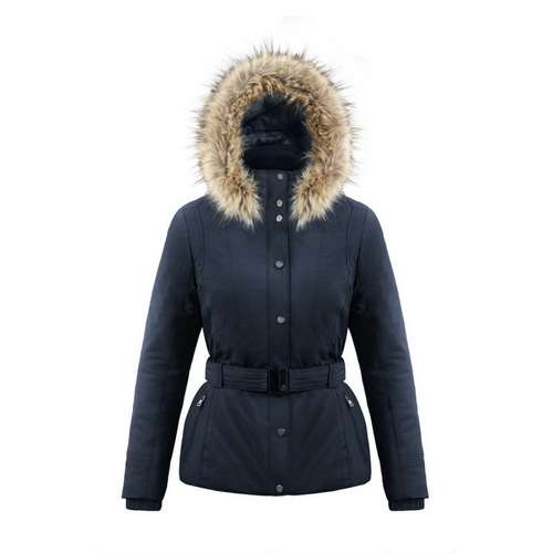 Women's Belted Stretch Ski Jacket