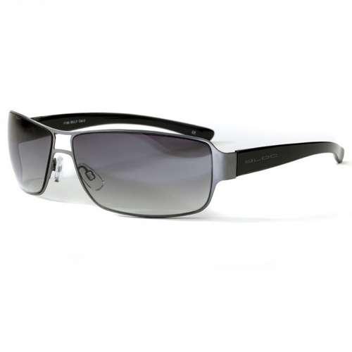 Mens Billy Gunmetal Black Sunglasses
