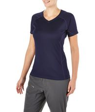 Women's Short Sleeved V-Neck Tech Tee