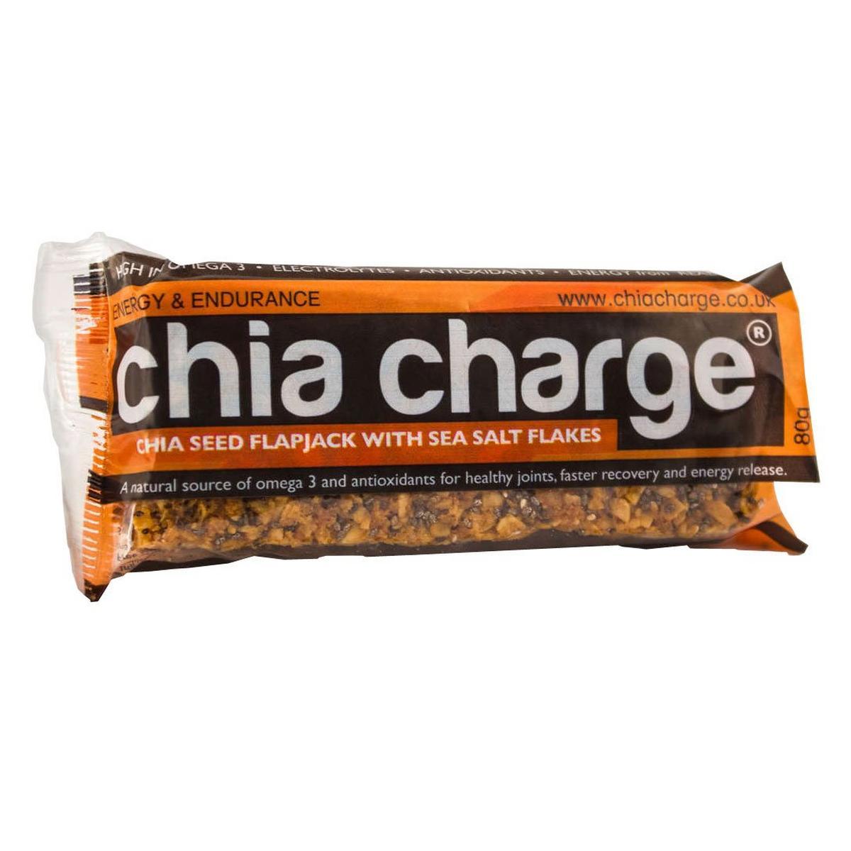 Chia Charge Chia Seed Flapjack with Sea Salt Flakes