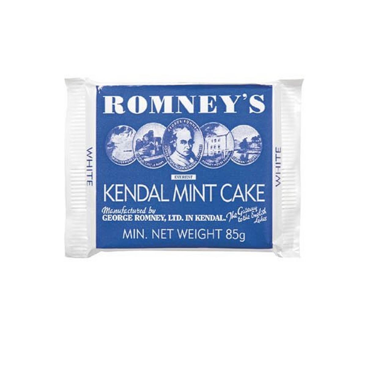 Romneys Kendal Mint Cake 85g Bar