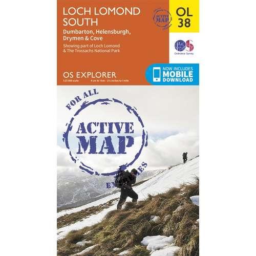 EXPLORER ACTIVE OL38 - South Loch Lomond