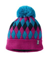 Kids Diamond Knit Cap