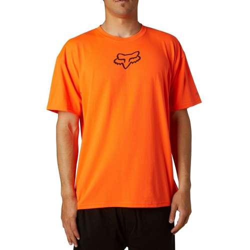 Mens Tournament Short Sleeve Tech Tee Orange