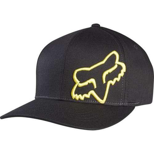 LEGACY Flex 45 FLEXFIT HAT Black Yellow