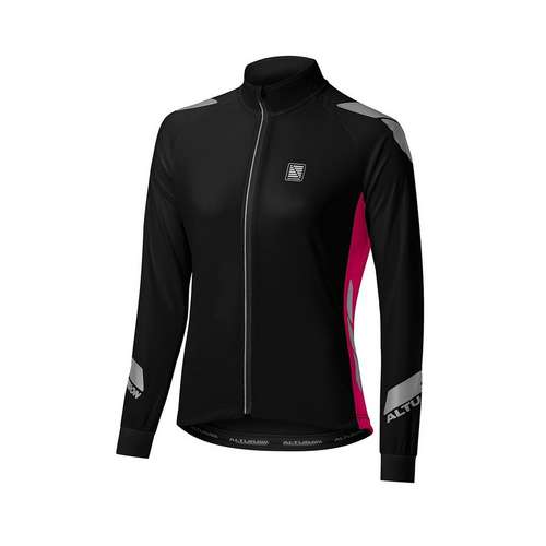 Womens Nightvision Long Sleeve Commuter Jersey