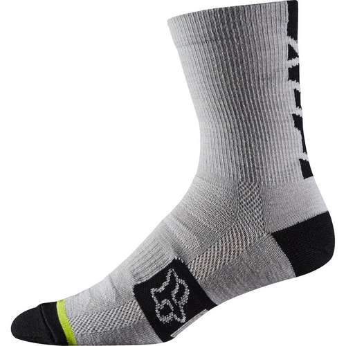 Merino Wool Socks Heather White